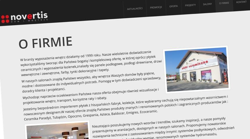 Novertis Strony Internetowe I Sklepy Częstochowa